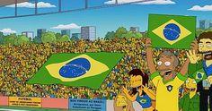 """Ponto de Vista - Cilane Assad de Souza: Brasil x Alemanha: Gente, sábado ainda tem jogo! Parabéns aos criadores dos """"Simpsons"""" pelo palpite."""
