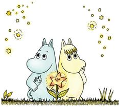 Tanoshii Moomin Ikka: Moomin Tani No Suisei Movie Moomin Tattoo, Les Moomins, Cute Hippo, Tove Jansson, Cartoon Gifs, Textiles, Disney Tattoos, All Art, Art Museum