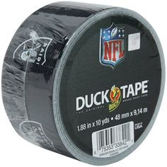 Oakland Raiders NFL Duct Tape- for those unruly fans!!!!  And never Raider fans! #fanaticswishlist