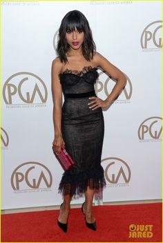 Kerry Washington in Marchesa Producers Guild Awards 2013