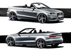 Audi A3 Cabriolet - Design Sketches