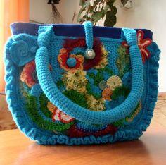 Stunning *** beautiful *** gorgeous crochet bag