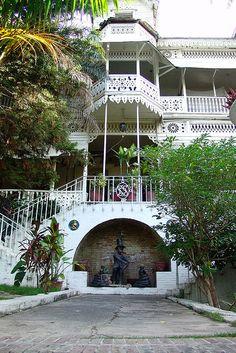 Olafson Hotel in Port-au-Prince. HAITI.