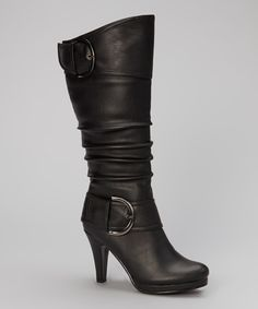 This Black Page Boot by  is perfect! #zulilyfinds