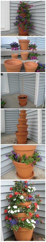 Simple and lovely pot stack.
