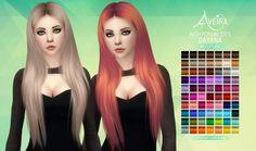Nightcrawler's Dayana Hair Retexture at Aveira Sims 4 • Sims 4 Updates