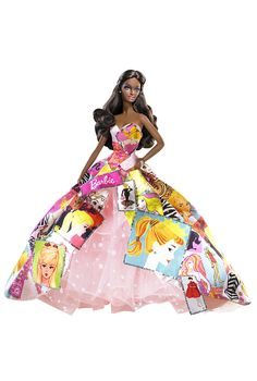 Generations Of Dreams™ Barbie® Doll | Barbie CollectorGenerations of Dreams™ Barbie® doll captures our favorite doll, dressed in an exquisite gown embellished with illustrations of the Barbie® heritage. Decorated with silvery sequins, the gown is as bright as our hopes and wishes. Generations of Dreams™ Barbie® doll commemorates 50 years of inspired dreams!