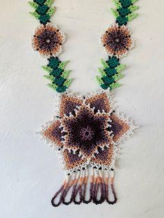 Arte Huichol Crochet Earrings, Etsy Seller, Create, Unique, Jewelry, Bead Necklaces, Colors, Tent, Jewels