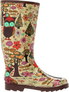 Amazon.com: Chooka Women's Gypsy Owl Boot: Shoes