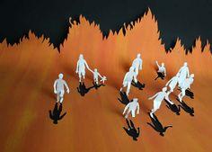 丹麦剪纸艺术家Peter Callesen的作品10