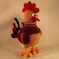 Cock Louie ToyMagic. Rooster Cockerel CockCrochet ...
