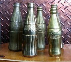 Brass Coke bottle collection