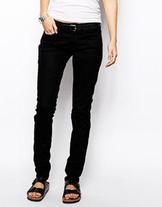 Black skinny jeans, Calvin Klein