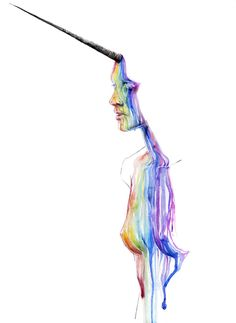 Unicorn girl by agnes-cecile.deviantart.com on @deviantART... You are missed Babb...