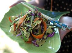 Raw Pad Thai for a Potluck Picnic | My New Roots