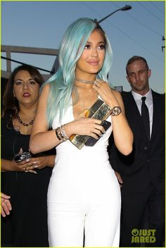 Kylie Jenner Has Blue Hair Again - See the New Photos!   kylie jenner has blue hair again 02 - Photo - Kylie Jenner Style