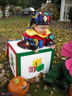 Jack in the Box Costume - 2013 Halloween Costume Contest via @costumeworks