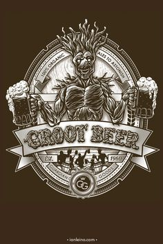 Groot Beer Is The Best Beverage In The Galaxy [T-Shirt]