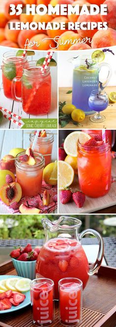 To help you prepare your own versions of fruity, vibrant-hued, healthy concoctions, here are 35 Wonderful Lemonade Recipes for Summer 2017 introducing lovely tweaks to the traditional drink.