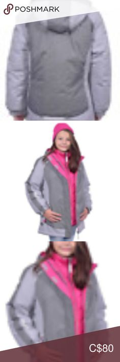 Girl GERRY system winter jacket brand: Gerry outer jacket: attached hood with … – Bloğ Plus Fashion, Fashion Tips, Fashion Design, Fashion Trends, Jacket Brands, Zip Ups, Rain Jacket, Windbreaker, Winter Jackets