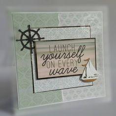 Sail boat, yacht, ships wheel - Lisa Horton