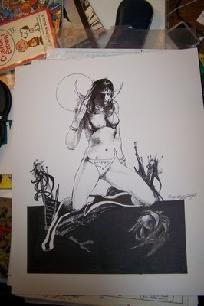 Vampirella Art   Tony DeZuniga $250.