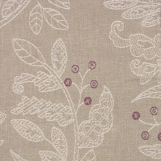 Fern - Plum fabric, from the Arbour collection by Voyage