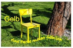 Free Image on Pixabay - Chair, Yellow, Nature, Garden Garden Furniture Sets, Outdoor Furniture, Outdoor Chairs, Outdoor Decor, Interior Garden, Free Pictures, Amazing Gardens, Yellow, Home Decor