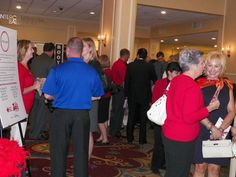 Everyone had a great time mingling and bidding on the silent auction items.