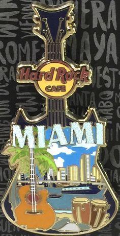 HRC Hard Rock Cafe Online Staff 3DP Rock Star Logo Guitar Neck LE500