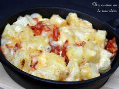 Reblochonnade pommes de terre, reblochon, ail et chorizo