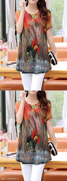 berrylook.com New Chic, Printed Blouse, Sewing Patterns, Prints, Purses, Facebook, Women, Ideas, Templates