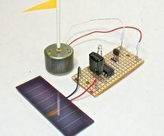 Instructables Basic Solar motor