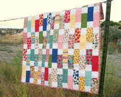 """On the Road to Spring"" quilt"