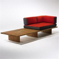 Charlotte Perriand, Tokyo Bench, 1954.
