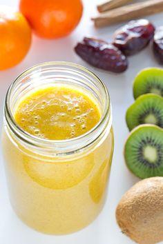 Batido Para las Defensas. Rico en vitamina C