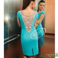 Todo crochet: Aplique de encaje para la espalda del vestido