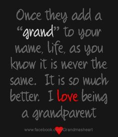 I Love Being a #Grandma Visit us at