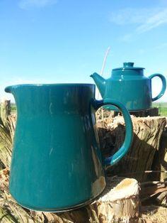 Arabia Finland Kilta/Teema milk jug green.. by fcollectables, €30.00