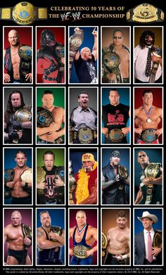 Attitude/ Ruthless Aggression Era Champions Poster by Chirantha on DeviantArt