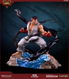 The Ryu V-Trigger Sixth Scale Statue by Pop Culture Shock is available at Sideshow.com for fans of Street Fighter and Capcom.