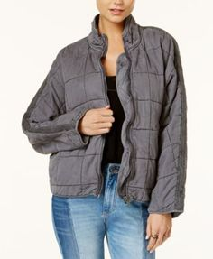 5f5ad3d8bab FREE PEOPLE Free People Quilted Dolman Jacket.  freepeople  cloth   jackets Free  People