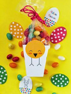cajas imprimibles para Pascuas