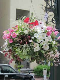 Hanging flower for Shibuya Flower Fes. 2012