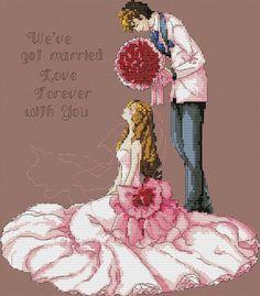 """Сачать схему вышивки """"Wedding"""""""