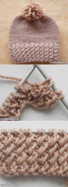 El hacer punto hermoso de las encías - vyazhemdd.ru
