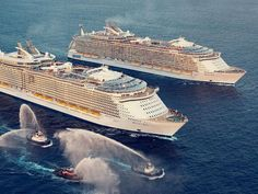 Quality family time with Oasis of the Seas and Allure of the Seas.