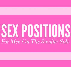 Cosmo answers your question about sex positions to use with a less well-endowed guy. Relationship Advice, Relationships, Let Them Talk, Let It Be, Get Educated, Couple Stuff, Pure Romance, Sex And Love, Ldr
