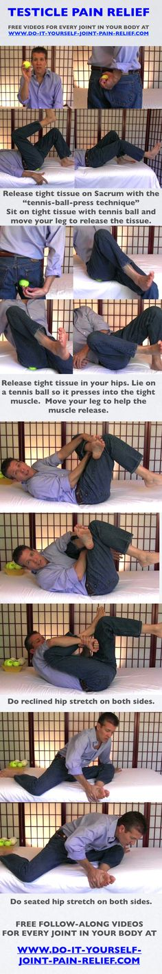 12 best diy joint pain relief images on pinterest stretching testicle pain relief free follow along videos and free pain relief cheat sheet solutioingenieria Image collections