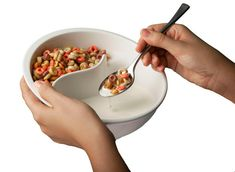 The perfect bowl for just about everything, the Obol has separate compartments to keep your cereal crunchy, and your cookies at the ready to dip in milk, chips & dip etc.